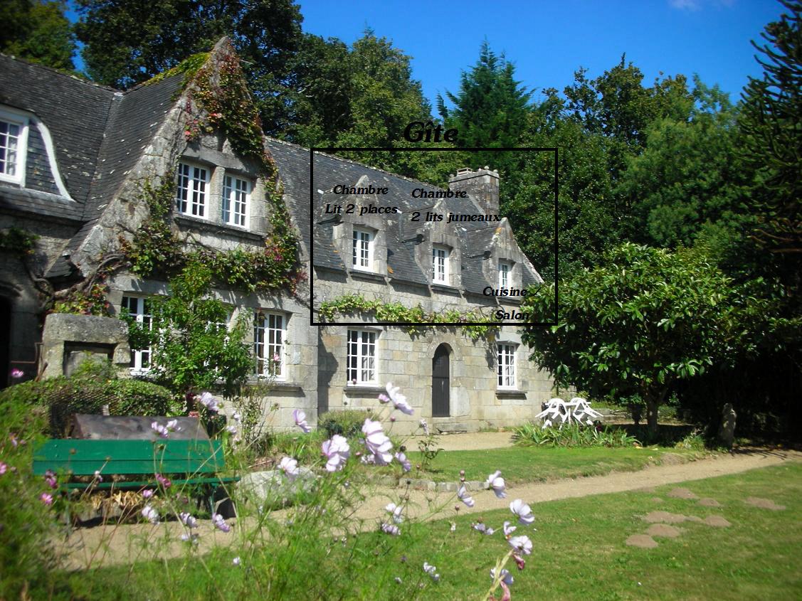 Gite pour 4 personnes à Hennebont, Morbihan, Bretagne Sud